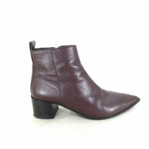 Everlane Boss Boots in Burgundy